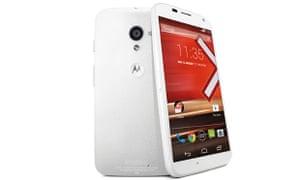 Motorola Moto X review white phone