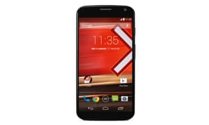 Motorola Moto X review black phone