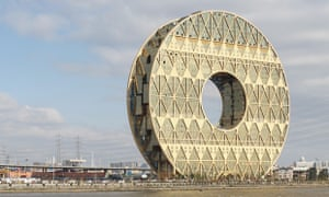 Lucky hole … the Guanzhou Circle symbolises jade disks, lucky numbers and an ancient dynastic insignia.
