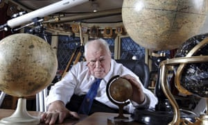 Astronomer Patrick Moore