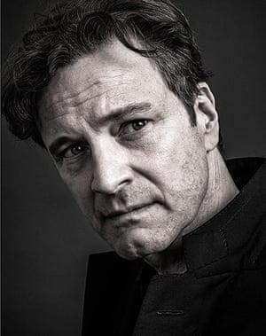 Bafta portraits: Bafta portraits Andy Gotts Colin Firth