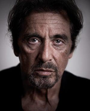 Bafta portraits: Bafta portraits Andy Gotts Al Pacino