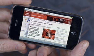 BBC news mobile consumption overtakes desktop