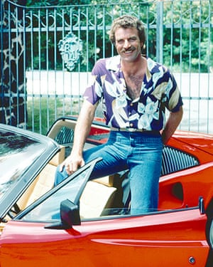 Cars: Tom Sellick in Magnum, P.I.