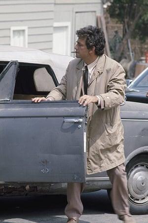 Cars: Peter Falk in Columbo