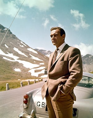 Cars: Sean Connery in Goldfinger