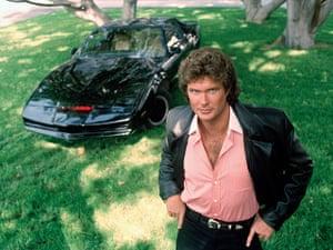 Cars: David Hasselhoff in Knight Rider