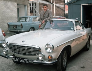 Cars: Roger moore in The Saint