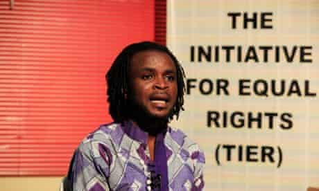 Olumide Makanjuola, a Nigerian LGBT rights worker