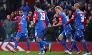 Crystal Palace's tiny goalscorer, Jason Puncheon.