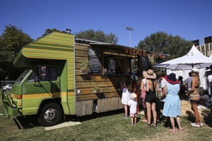 So frenchy: Veggie Patch food van