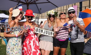 French fashion at  So Frenchy, So Chic In The Park at  St. John's College, Camperdown