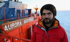 Antarctica Live: Alok Jha on the deck of the Aurora Australis