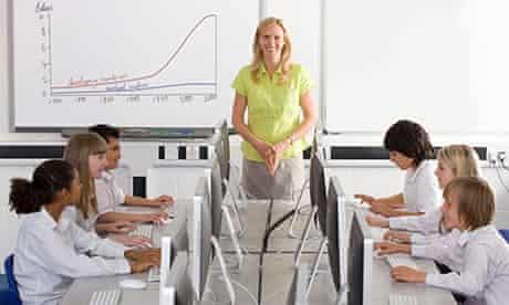 Teacher class computers