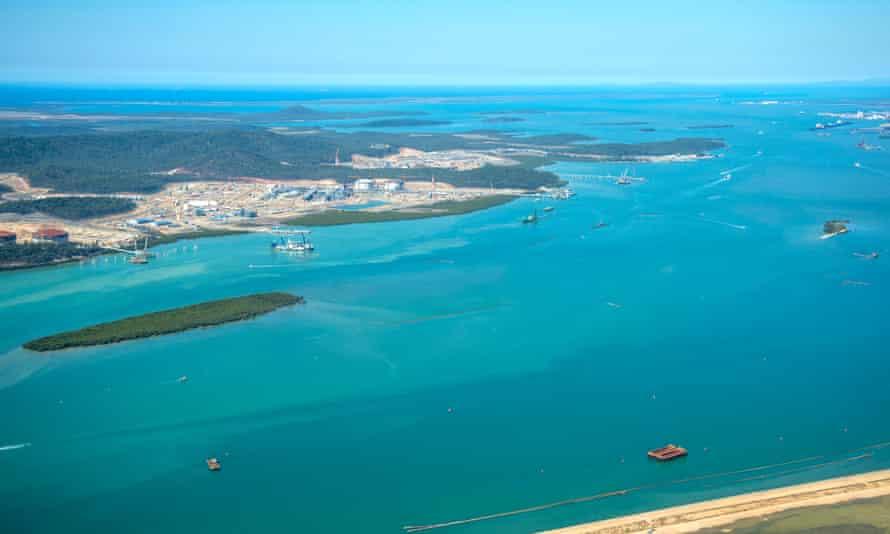 Gladstone harbour