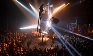 Fuerzabruta at the Roundhouse in London