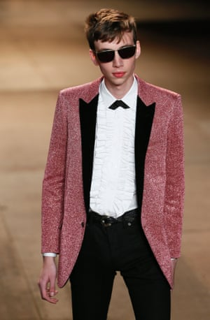 Saint Laurent AW14 menswear – Teddy Boy style.