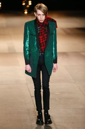 Saint Laurent AW14 menswear.
