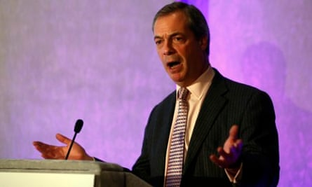 Ukip leader Nigel Farage said he believed there was no discrimination against women in the City