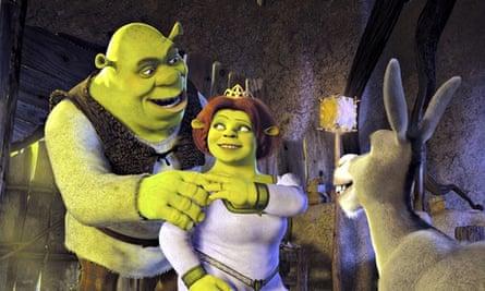 Shrek 2 … a David Cameron favourite.
