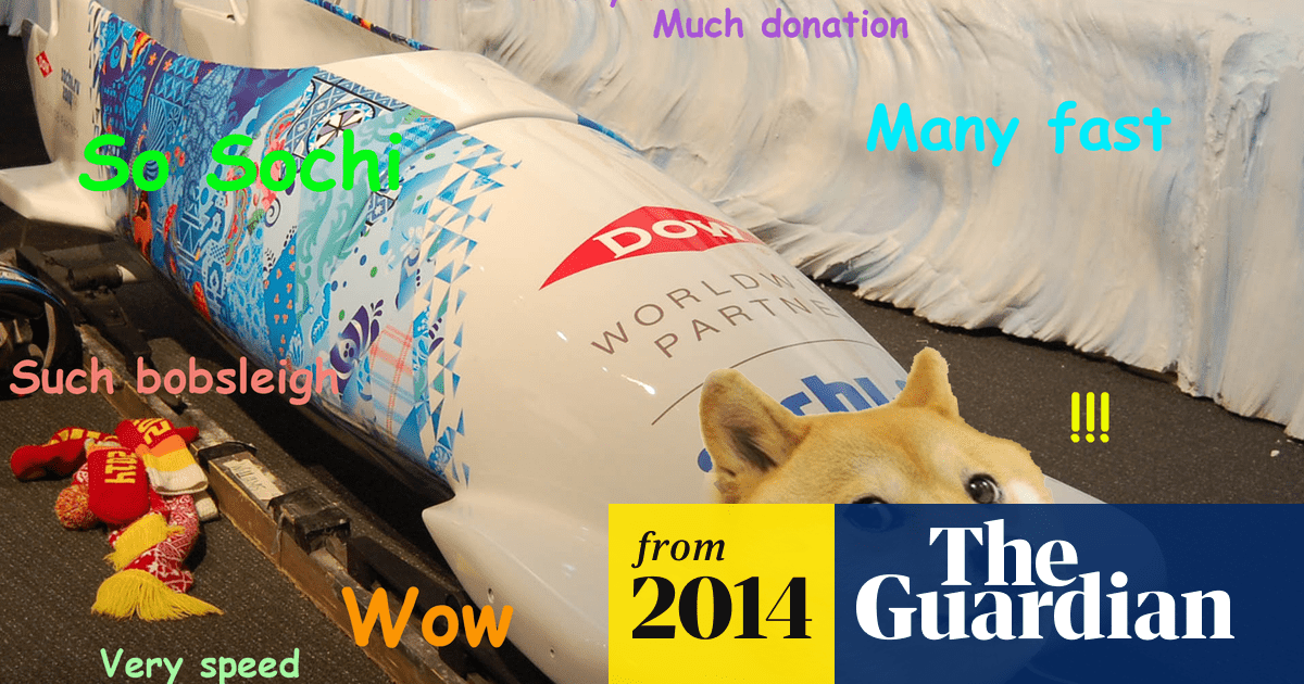 It S Bobsleigh Time Jamaican Team Raises 25 000 In Dogecoin Bitcoin The Guardian