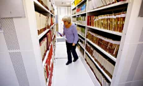 Register office archive
