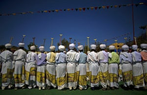FTA: Carl de Souza: Christians wear white shrouds during the festival
