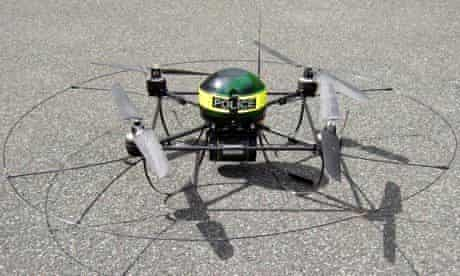 Police drones used in arrests