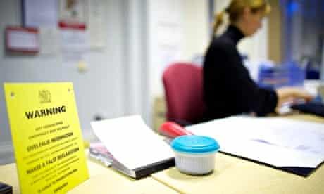Register office warning