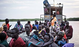 Refugees from Bor
