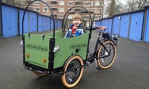 Bike Blog - Velo Electrique cargo bike