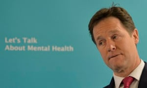 Nick Clegg launches mental health action plan, London, 20/1/14