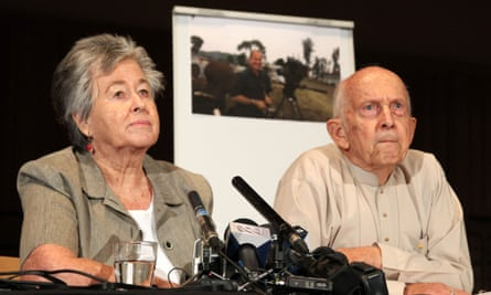 Lois and Juris Greste - parents of Peter Greste