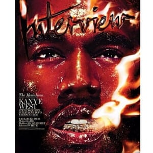 Kanye's new Interview Magazine cover!!! So proud!!! Shot by Steven Klein, interviewed by Steve McQueen