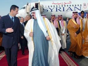 Assad in Saudi Arabia