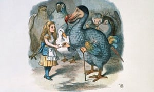 Alice and the Dodo from Alice's Adventures in Wonderland