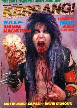 Kerrang covers: Kerrang WASP