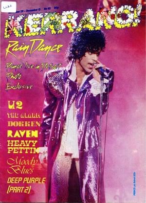 Kerrang covers: Kerrang Prince