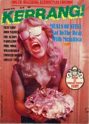 Kerrang covers: Kerrang Metallica