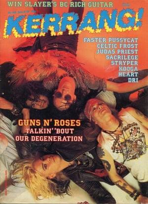 Kerrang covers: Kerrang Guns n Roses