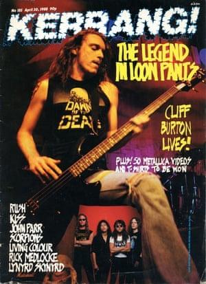 Kerrang covers: Kerrang Cliff