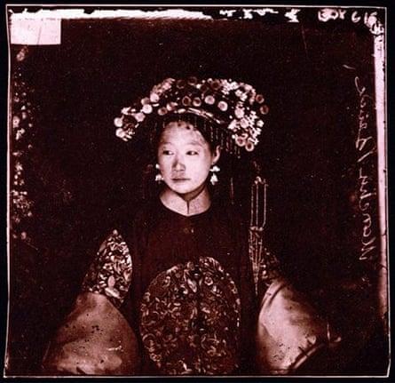 Manchu Bride - Wellcome Library