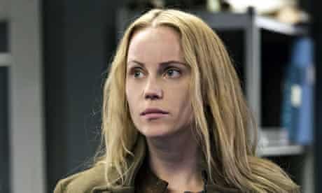 Sofia Helin as Saga Nor in The Bridge.