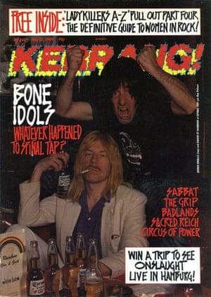Kerrang covers: Kerrang spinal