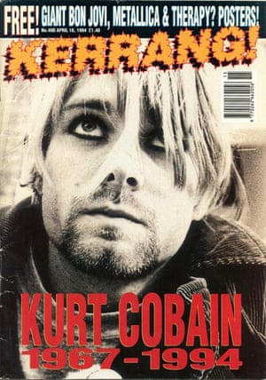 Kerrang covers: Kerrang Kurt