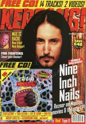 Kerrang covers: Kerrang NIN