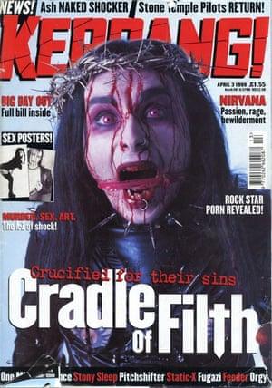 Kerrang covers: Kerrang Cradle