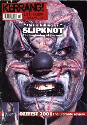 Kerrang covers: Kerrang Slipknot clown