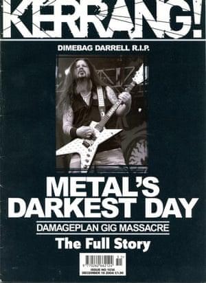Kerrang covers: Kerrang Dimebag Darrell