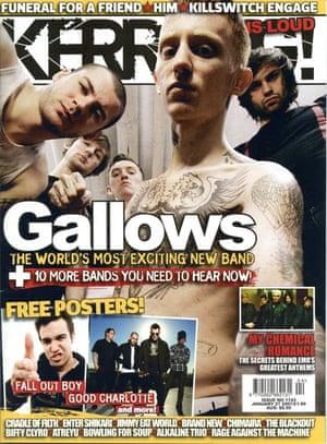 Kerrang covers: Kerrang Gallows